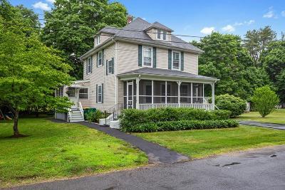 Mansfield Single Family Home Under Agreement: 16 Alden Street