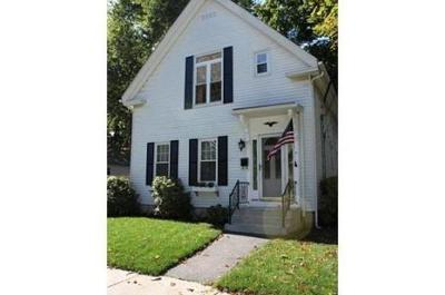 Natick Single Family Home Contingent: 11 Reynolds Ave
