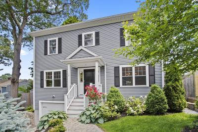 Waltham Single Family Home Under Agreement: 12 Bryant Road