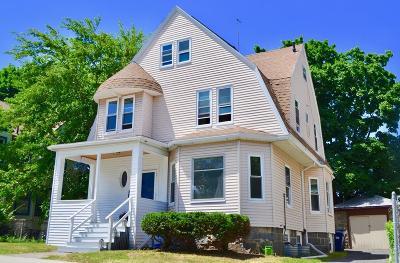 Boston Single Family Home Under Agreement: 17 Lindsey Street