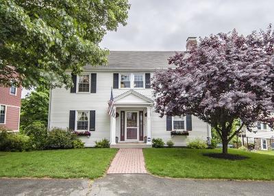 Waltham Single Family Home Under Agreement: 21 Leonard Street