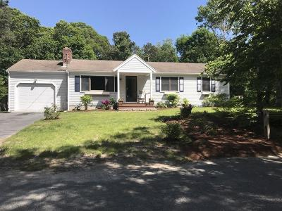 Barnstable Single Family Home For Sale: 170 Dunns Pond Rd