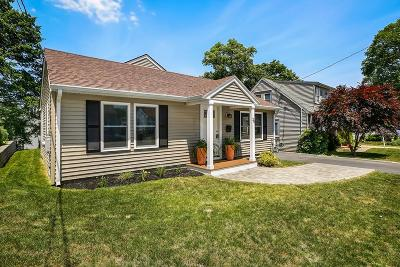 Dedham Single Family Home For Sale: 20 Tarbox St