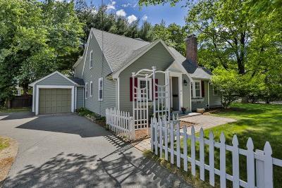 Wellesley Single Family Home For Sale: 41 Kingsbury St