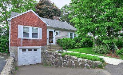 Waltham Single Family Home Under Agreement: 81 Prentice St