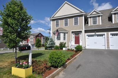 Maynard Condo/Townhouse For Sale: 2 Walcott Avenue #1