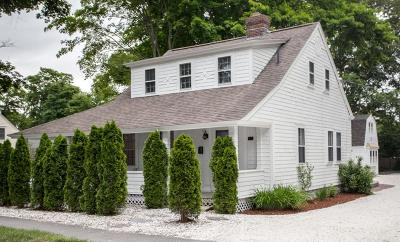 Falmouth Single Family Home Under Agreement: 128 Locust St