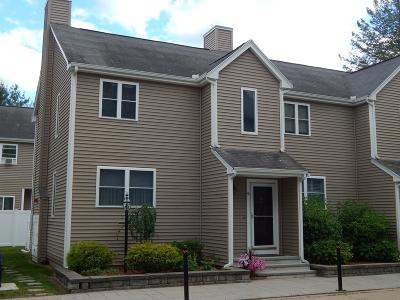 Mansfield Condo/Townhouse Under Agreement: 4 Fairfield Park #4