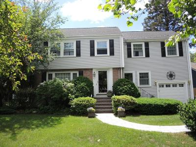 Needham Single Family Home For Sale: 41 Mason Road