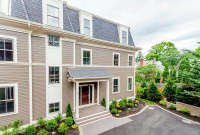 Brookline Condo/Townhouse For Sale: 33 Winthrop #2