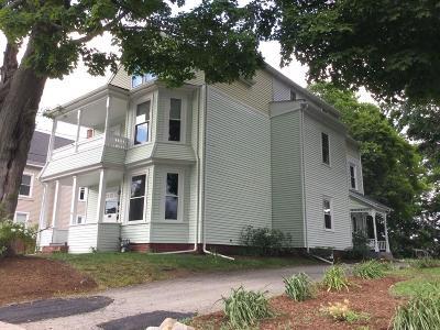 Whitman Multi Family Home Under Agreement: 60 Linden St