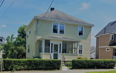 Newton Single Family Home Under Agreement: 20 Emerald St