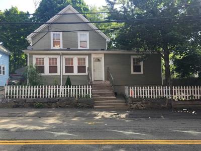 Boston Single Family Home Under Agreement: 179 Reservation Rd