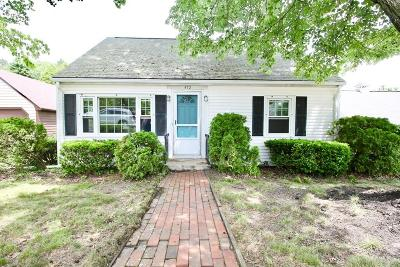 Braintree Single Family Home Under Agreement: 572 Middle Street