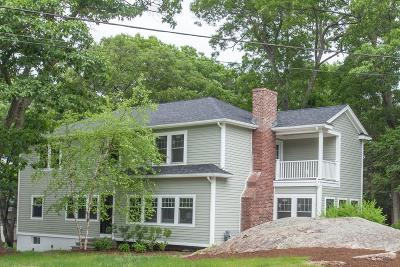 Wellesley Single Family Home New: 22 Ivy Road