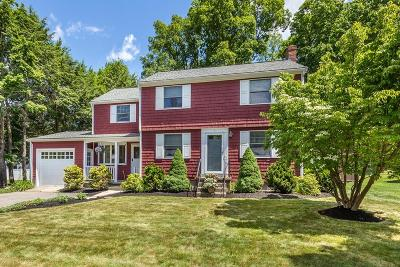 Canton Single Family Home Under Agreement: 1 Cape Cod Circle