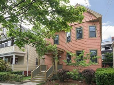 Somerville Single Family Home Under Agreement: 54 Burnside