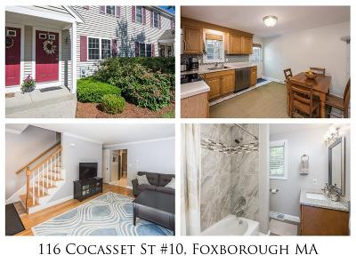 Condo/Townhouse Sold: 116 Cocasset Street #10