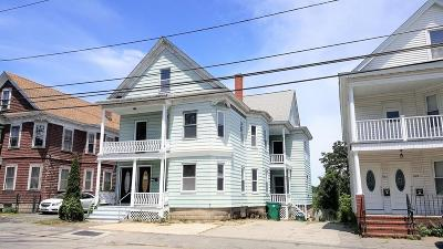 Lowell Multi Family Home Under Agreement: 983-985 Middlesex St