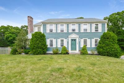 Duxbury Single Family Home For Sale: 1160 Franklin St