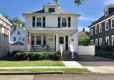Watertown MA Single Family Home For Sale: $750,000