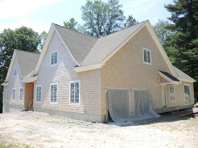 Needham Single Family Home New: Lot 49 Woodworth Road