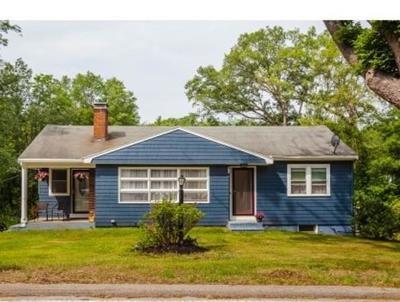 Billerica Single Family Home Under Agreement: 315 Nashua Road