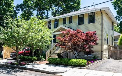 Cambridge MA Single Family Home Under Agreement: $1,578,000