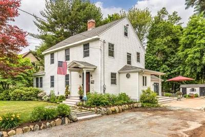 Reading MA Single Family Home For Sale: $749,900
