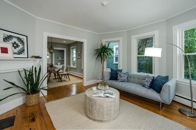Condo/Townhouse Under Agreement: 9 Gilson Terrace #1