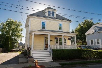 Peabody Single Family Home Under Agreement: 26 Highland Street