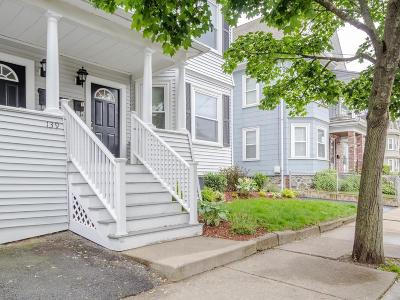 Waltham Condo/Townhouse For Sale: 139 Robbins St #1