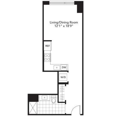 Rental For Rent: 101 Beverly Street #12U