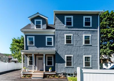 Waltham Single Family Home For Sale: 17 Charles Street Ave