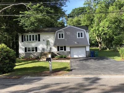 Burlington Single Family Home For Sale: 37 Westwood St