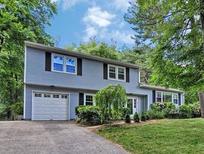 Holliston Single Family Home New: 96 Wingate Road