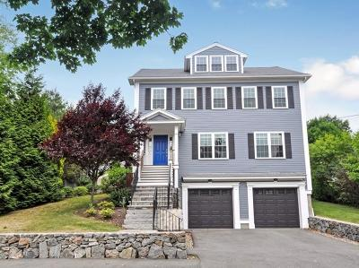 Arlington MA Single Family Home Under Agreement: $1,275,000