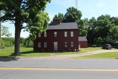 Middleboro Single Family Home Under Agreement: 190 Old Center St
