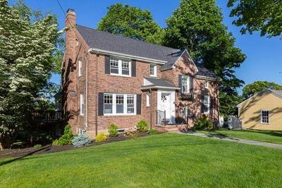 Arlington MA Single Family Home Under Agreement: $1,089,000
