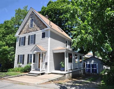 Maynard Single Family Home Under Agreement: 66 Waltham St