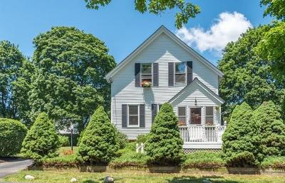 Reading MA Single Family Home For Sale: $549,900