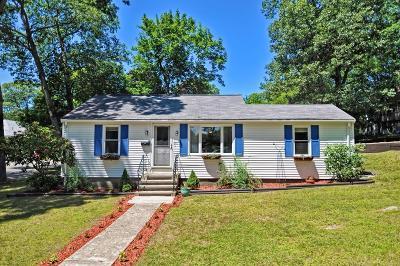 Mansfield Single Family Home Under Agreement: 120 Samoset Ave