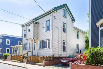 Cambridge MA Single Family Home Under Agreement: $1,195,000