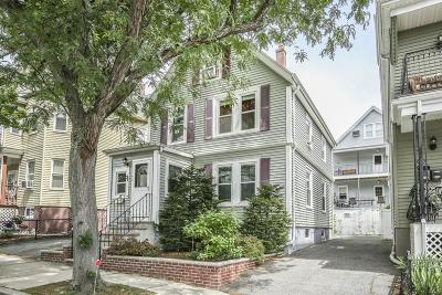 Somerville Single Family Home Under Agreement: 47 Partridge Ave