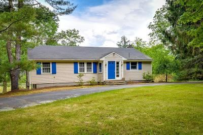 Sherborn Single Family Home Under Agreement: 5 Pleasant St