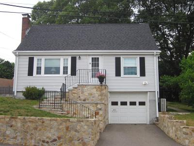 Quincy Single Family Home Contingent: 89 Upton Street