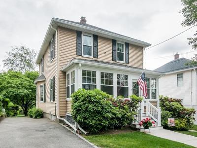 Newton Single Family Home Under Agreement: 51 William Street