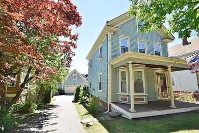 Somerville Single Family Home Price Changed: 22 Berkeley St