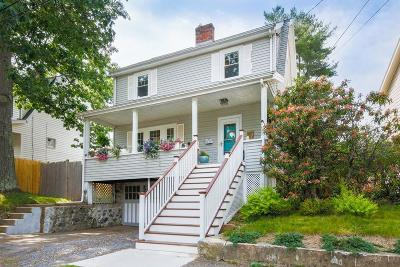 Arlington MA Single Family Home Under Agreement: $639,000