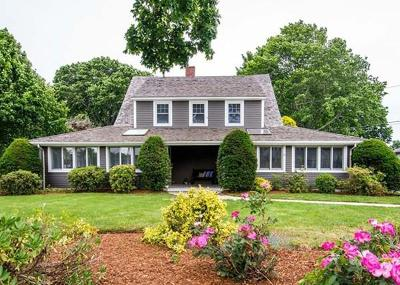Scituate Single Family Home For Sale: 608 Hatherly Rd